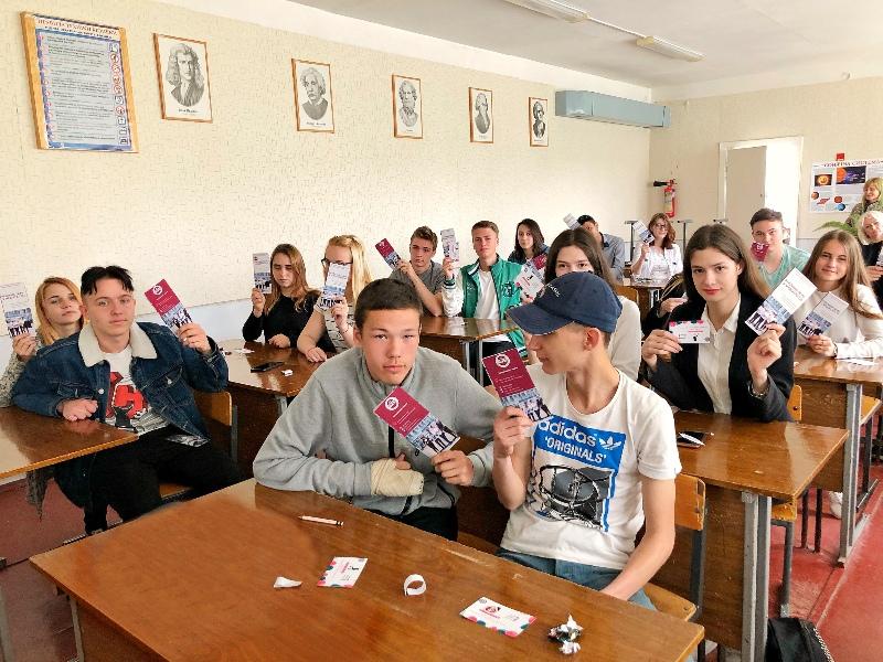 IСтуденти-рекламники розповіли абітурієнтам про переваги навчання в ННІ УФСК