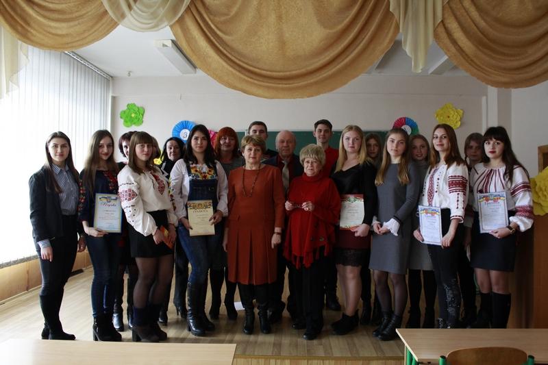 IВічне слово Кобзаря: студенти ННІ УФСК взяли участь у конкурсі читців поезій Шевченка