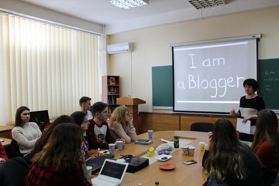 IСтуденти-редактори пізнали особливості роботи блогера